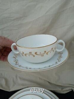 100 pcs Royal Worcester Verona Porcelain china dish set un used cream soup bowls