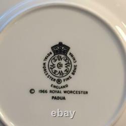 20pc Royal Worcester Padua Lot 4x Complete 5 Piece Place Settings Ch5629