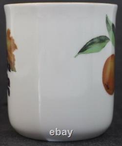 3 Pc. VTG Signed Royal Worcester Evesham Gold Porcelain Coffee Mug Set