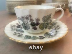 30 Pieces Royal Worcester Lavinia pattern- 6-5 Piece Place Settings. 2 Avail