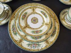 4 5 Pc Place Settings Royal Worcester Marjorie Yellow Raised Enamel 20 Pcs