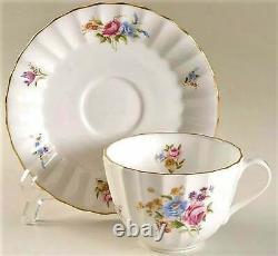 8 sets England Royal Worcester Roanoke bone china 5 pieces place setting
