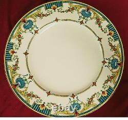 Antique Lille Royal Worcester DINNER PLATE England Set of 11