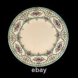 Antique Set of 10 Ovington Brothers New York ROYAL WORCESTER Dinner Plates