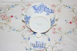 Antique Tea Set 1820s Grainger, Lee & Co Worcester bone china Blue Dragon Teapot