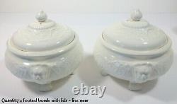 Antique Wedgwood Patrician bone china dinner set (114 pieces +/-)