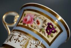 Chamberlains Regent China Worcester Pattern Number 155 Tea Cup Saucer Set