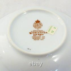 HERBS by Royal Worcester 4 Piece Setting with Soup NEW NEVER USED made England