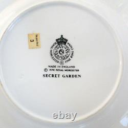 HIDDEN GARDEN Royal Worcester 4 Piece Setting NEW NEVER USED made in England
