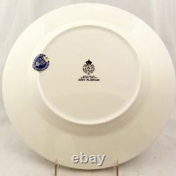 HOWARD GREY PLATINUM Royal Worcester 5 Piece Place Setting NEW NEVER USED