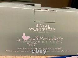 JOB LOT X 16 Sets Wrendale Mug & Coaster Set by Royal Worcester in Sausage Dog