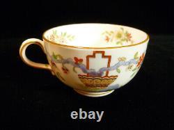 Kansas City History Signed Set Of Royal Worcester Cups & Saucers Circa 1912