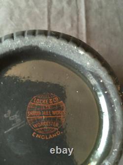 Locke Worcester pate sur pate Tea service Set coffee, Pot 6 cups saucers