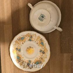 Lovely Royal Cauldon Gainsborough Set of 6 Cream Soups