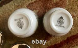 MIB Vintage Pair of Royal Worcester English Porcelain Egg Coddler Cup Set