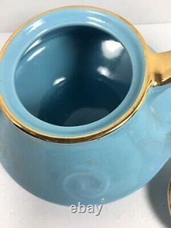 Mid Century Modern Teapot Set With Teapot England Porcelain Royal Worcester