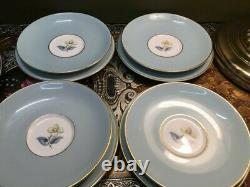 Mint 16 Piece 4 Place Setting Royal Worcester Woodland Afternoon Tea Set