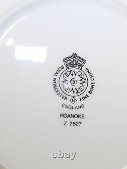 ROYAL WORCESTER ENGLAND ROANOKE BERRY BOWLS Set of 12