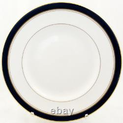 ROYAL WORCESTER HOWARD COBALT 5 Piece Place Setting NEW NEVER USED made England