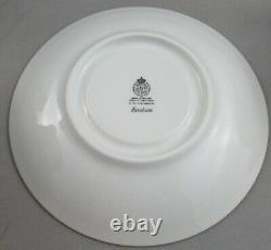 ROYAL WORCESTER PORCELAIN EVESHAM SET OF 8 CREAM SOUP BOWLS With UNDER PLATES