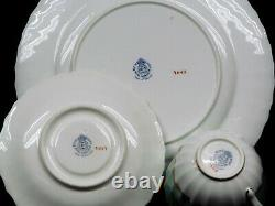 ROYAL WORCESTER Set Of Hand Painted Fruit Plat, Saucer & Tea cup by Horace Price