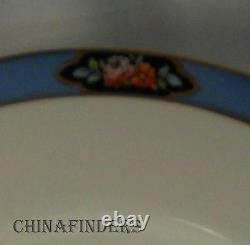 ROYAL WORCESTER china C1225 pattern Set of Twelve (12) Dinner Plates @ 10-1/2