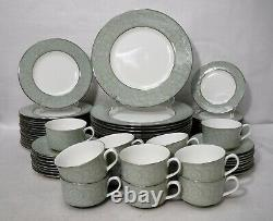 ROYAL WORCESTER china MIRAGE pattern 76-piece SET SERVICE for 16 less 4 cups