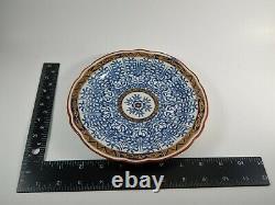 Rare SET 12 Antique Flight Barr Worcester Royal Lily Plates Circa 1800