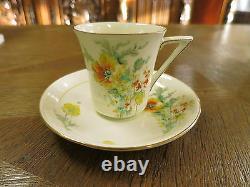 Royal Doulton Art Deco Coffee set -15 Pcs, Pattern POPPY