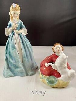 Royal Doulton & Worcester Set of 2 Home Again & Sweet Anne Excellent Condition