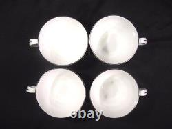 Royal Worcester Bridal Lace China 4 Piece Place Setting for 4 with extras 19 pcs
