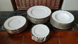 Royal Worcester Carina Green Bone China Dinner Set Plates & Bowls 1st