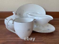 Royal Worcester Celeste 12 Place Settings Fine Bone China Made in England MCM