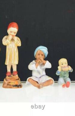 Royal Worcester Children Of The World Entire Set By Freda Doughty