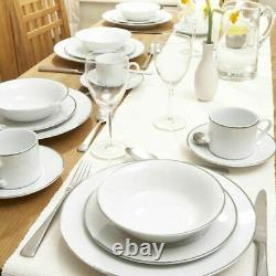 Royal Worcester Classic Platinum 20 Piece Dinner Set