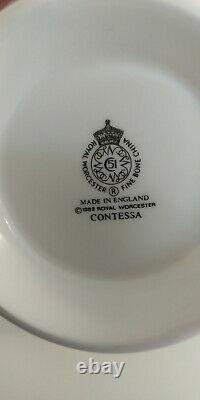 Royal Worcester Contessa Complete Fine Bone China Set