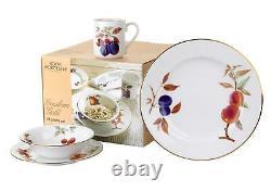 Royal Worcester Evesham Gold 16 Piece Set