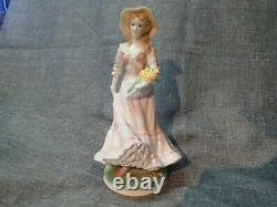 Royal Worcester Figurine's (4) 1992 THE FOUR SEASONS COMPLETE SET OF FOUR (4)