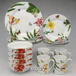 Royal Worcester Floral Haven 16 Piece Set 11116290