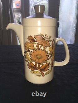 Royal Worcester Group Palissy Kismet Retro Vintage Tea Coffee Set Cups Saucers