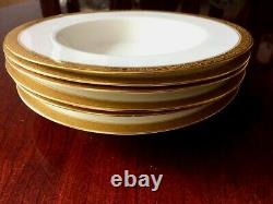 Royal Worcester Patrician Gold TrChina Soup/ Salad Bowl, 9 1/8, set of 6, C1027