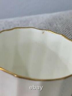 Royal Worcester Porcelain Dunrobin Pattern Set of 12 Demitasse Cups & Saucers