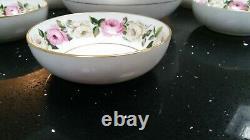Royal Worcester Royal Garden Elgar Fruit/Salad Set