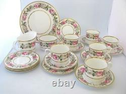 Royal Worcester Royal Garden tea set 27 piece