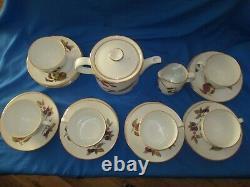 Royal Worcester' Wild Harvest' Tea Set