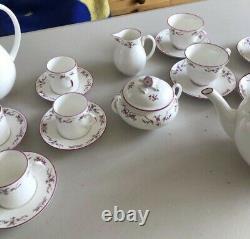 Royal worcester Petite Fleur Tea Set