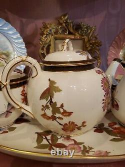 Royal worcester tea set circa 1887