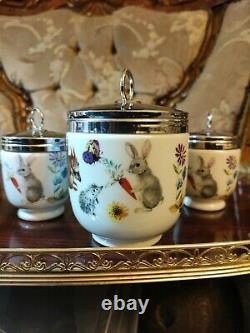 SET Of 31 MAXIME+2 King Size Royal Worcester A Skippety Tale Egg Coddlers