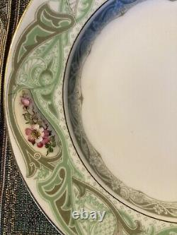 Set Of 11 Royal Worcester Dulin Martin Washington DC China Plates Antique 9 in