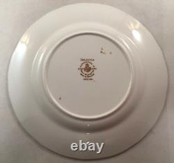 Set Of 8 Royal Worcester Fine Bone China Delecta Pattern Salad Plates 8 Inches